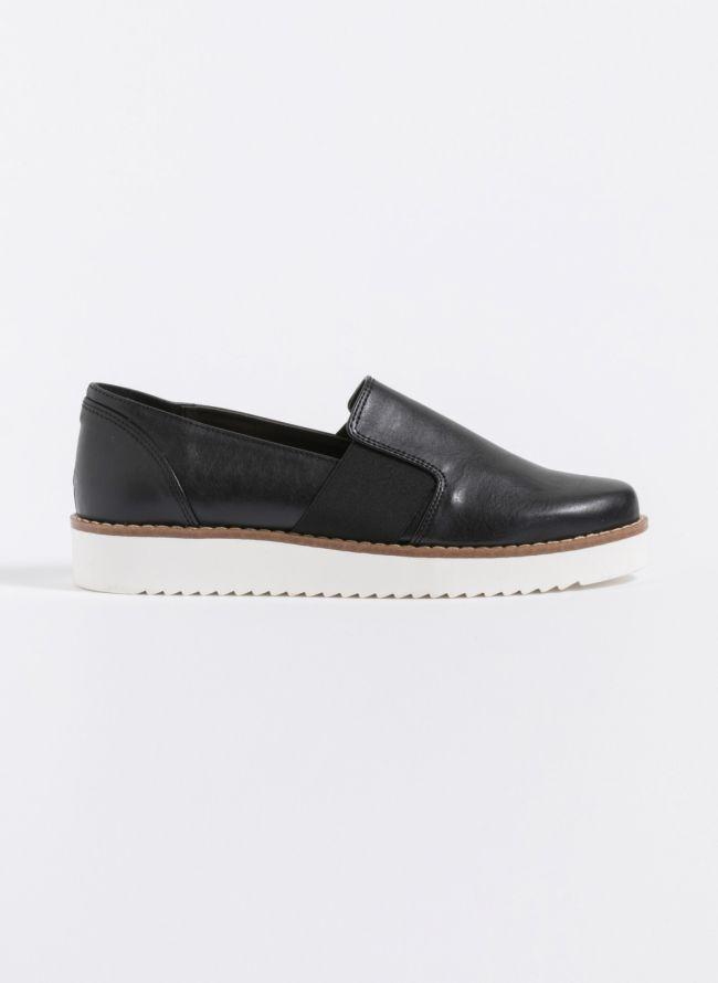 Loafers με λάστιχο - Μαύρο