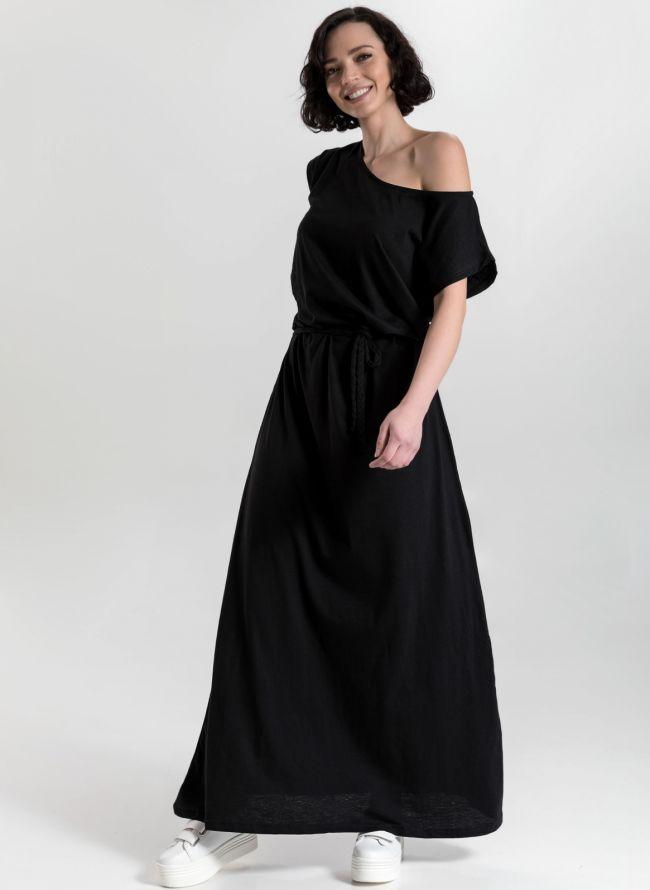 Μακό maxi φόρεμα - Μαύρο