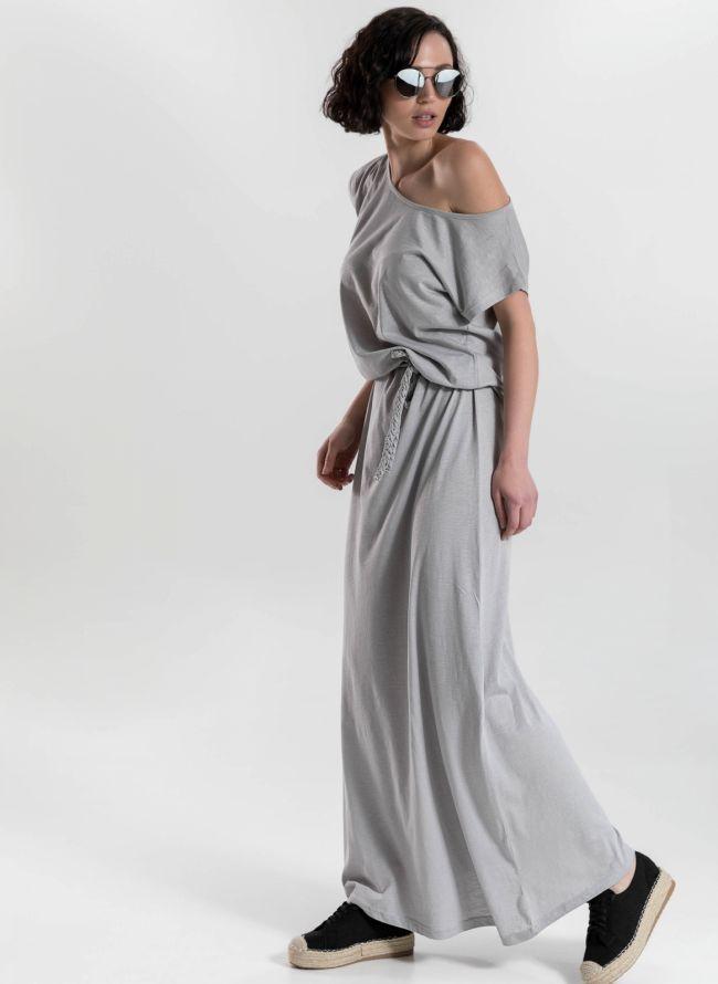 Μακό maxi φόρεμα - Γκρι