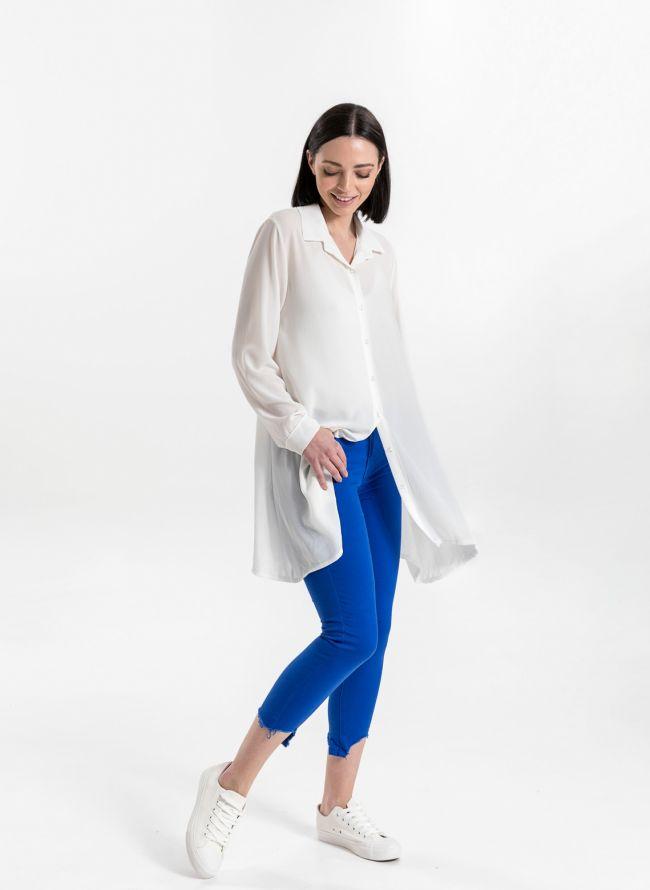 Μακρυά πουκαμίσα - Λευκό