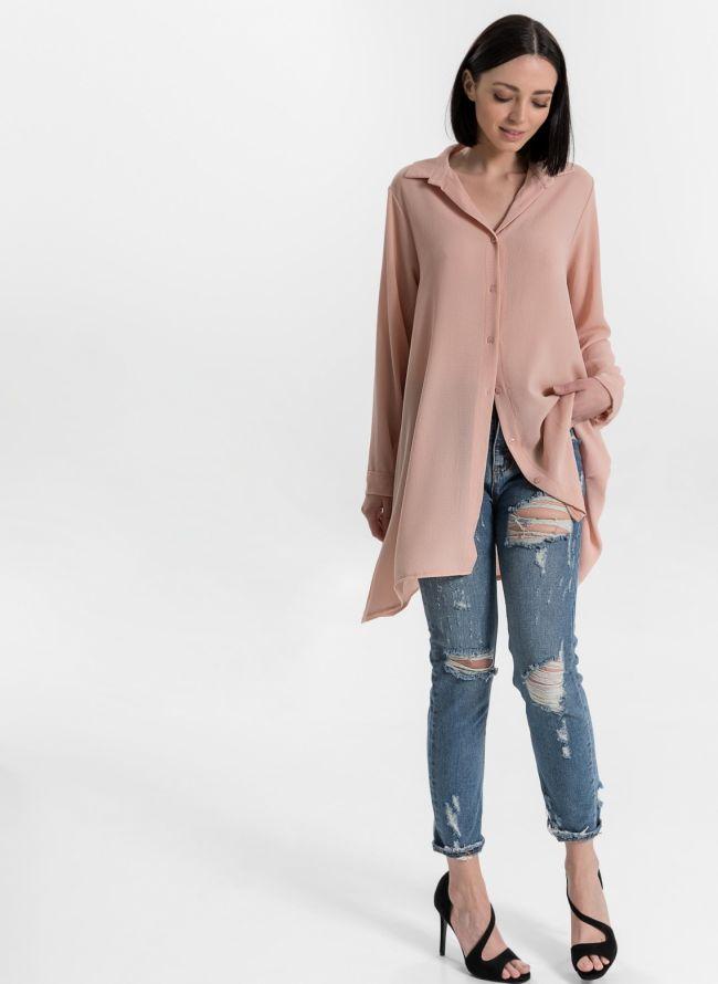 Μακρυά πουκαμίσα - Ροζ