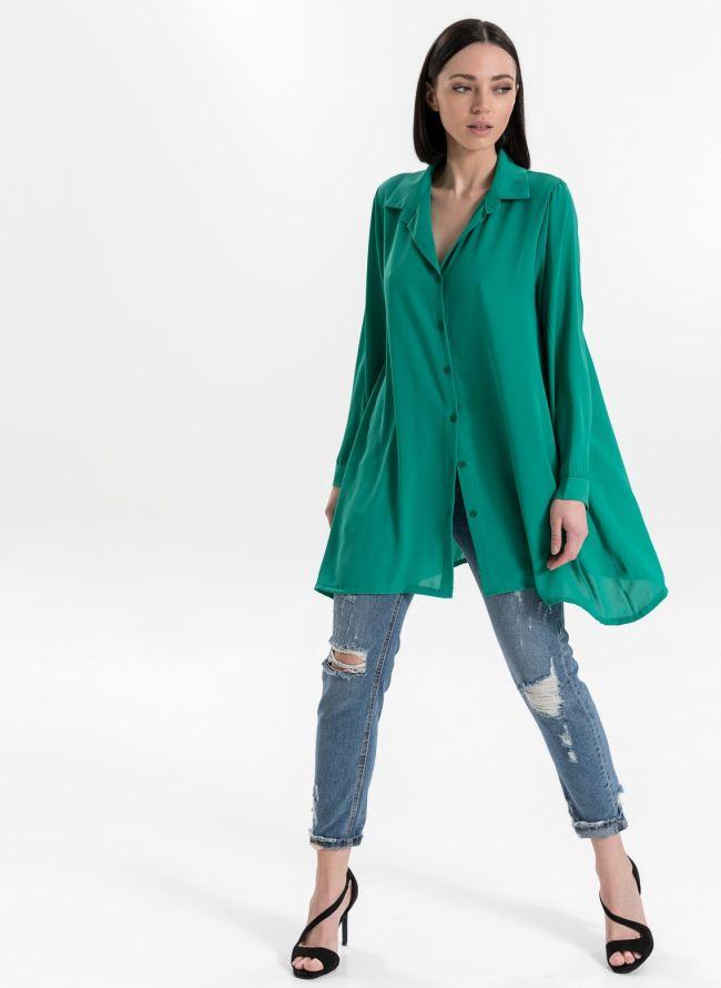 Μακρυά πουκαμίσα - Πράσινο