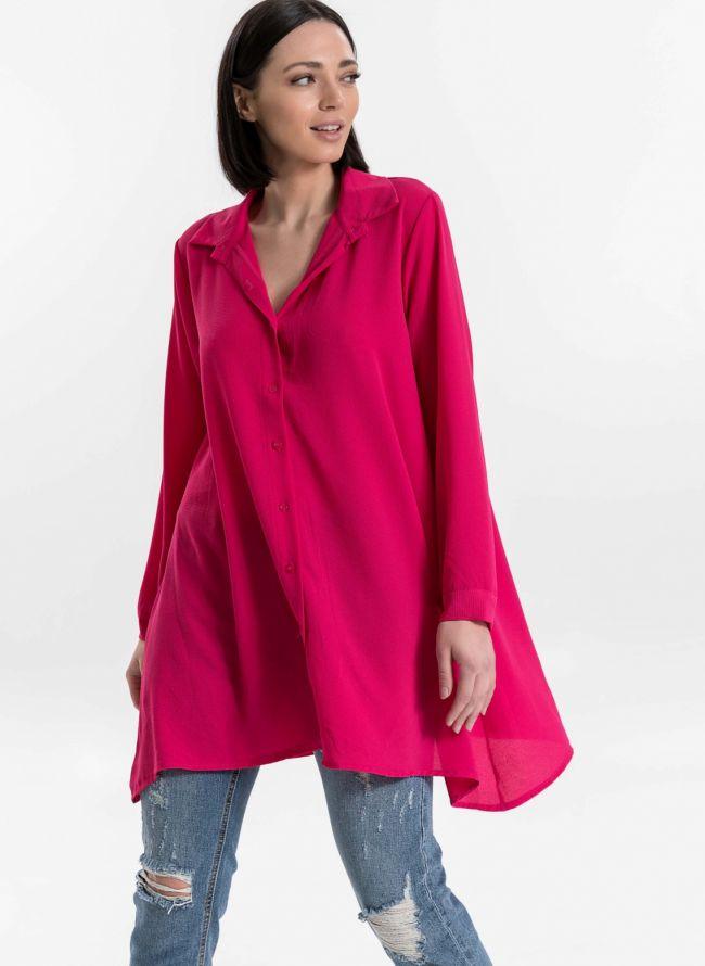 Μακρυά πουκαμίσα - Φούξια