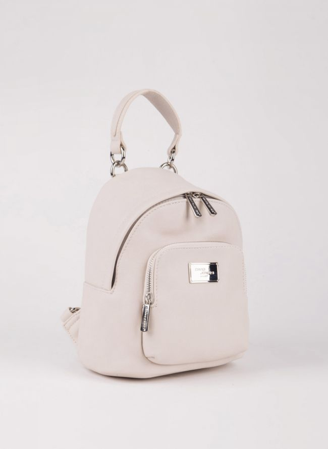 Mini backpack David Jones - Μπεζ