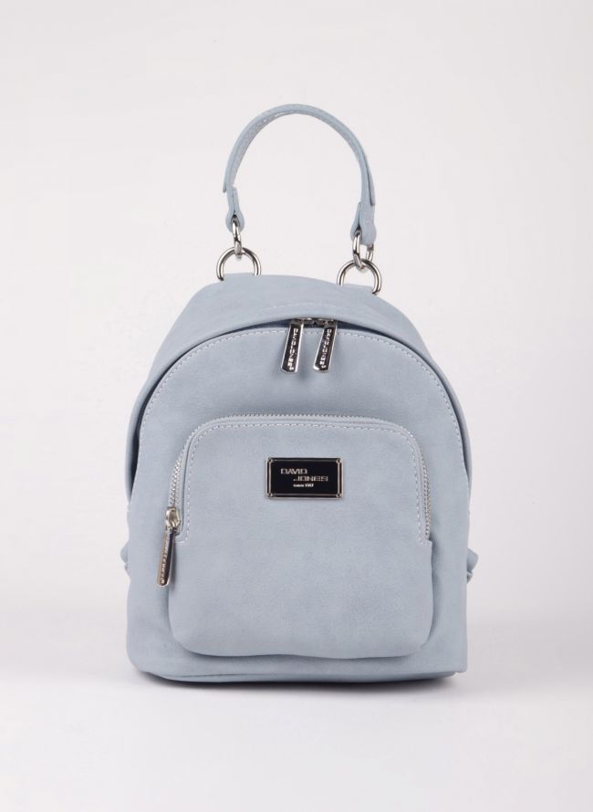Mini backpack David Jones - Γαλάζιο