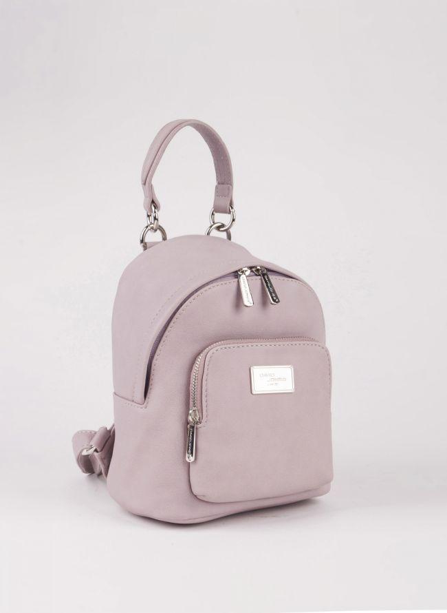 Mini backpack David Jones - Μωβ
