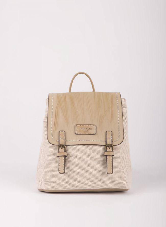 Mini backpack David Jones - Μπεζ