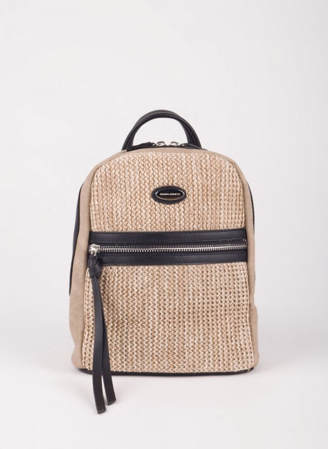 Mini backpack David Jones - Μαύρο