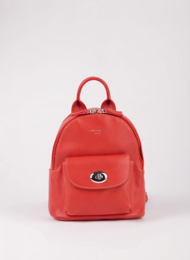 Mini backpack David Jones - Κοραλί