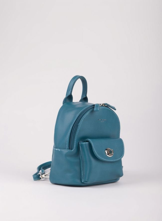 Mini backpack David Jones - Petrol