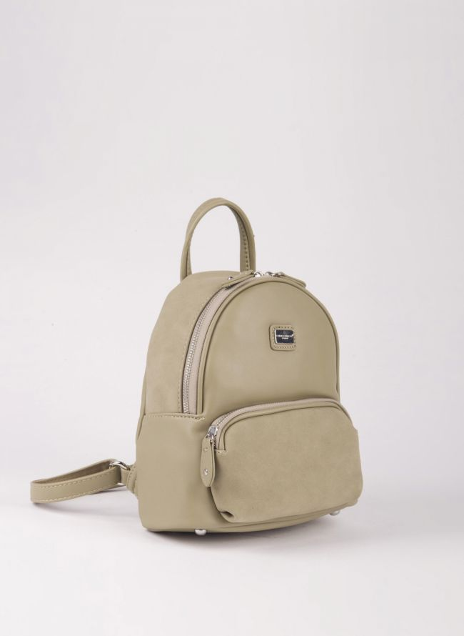 Mini backpack David Jones - Χακί