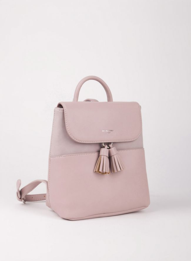 Mini backpack David Jones - Ροζ