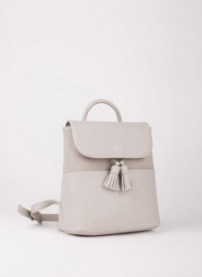 Mini backpack David Jones - Γκρι