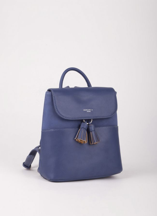 Mini backpack David Jones - Μπλε