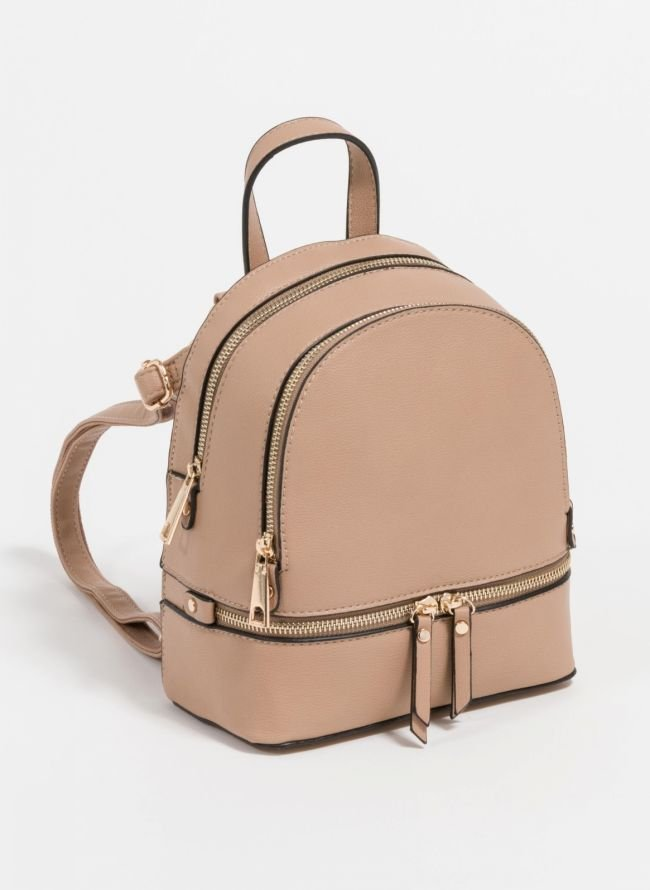 Mini backpack που μπορεί να κρατηθεί και χιαστί  - Τάουπε