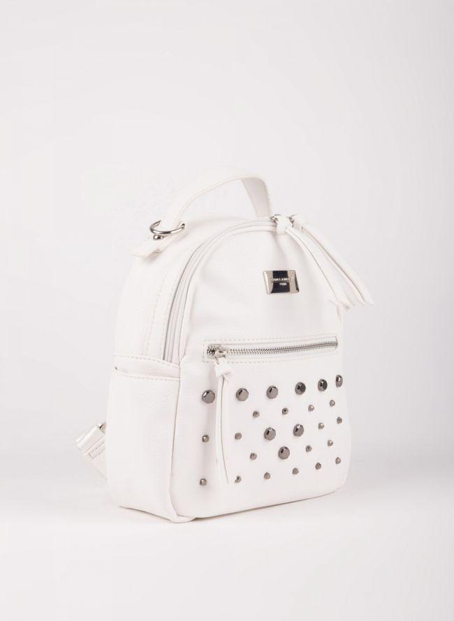 Mini backpack  David Jones με τρουκς - Λευκό