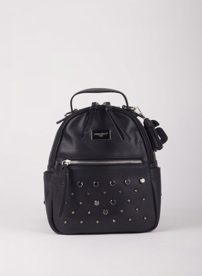 Mini backpack  David Jones με τρουκς - Μαύρο