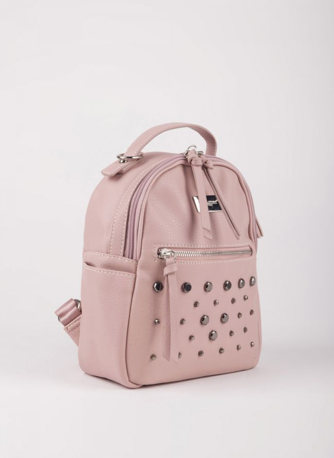 Mini backpack  David Jones με τρουκς - Ροζ