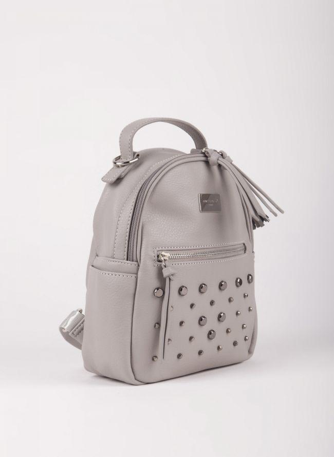 Mini backpack  David Jones με τρουκς - Γκρι
