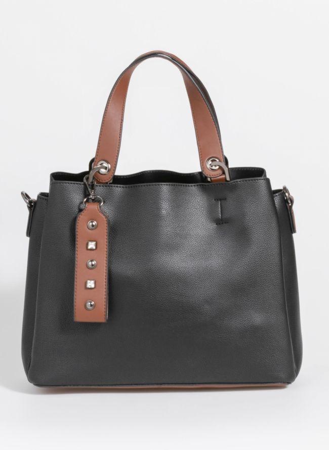 Minimal τσάντα ώμου - Μαύρο