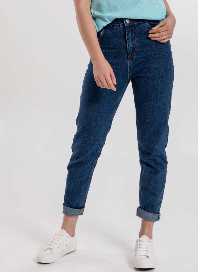 Moms fit jeans - Μπλε jean