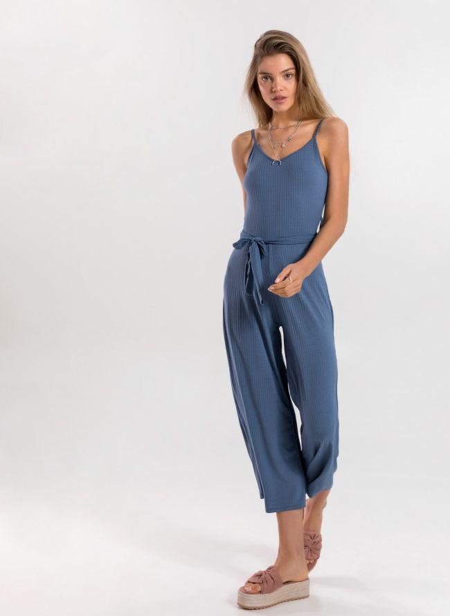 Ολόσωμη  cropped φόρμα με ραντάκι - Ραφ