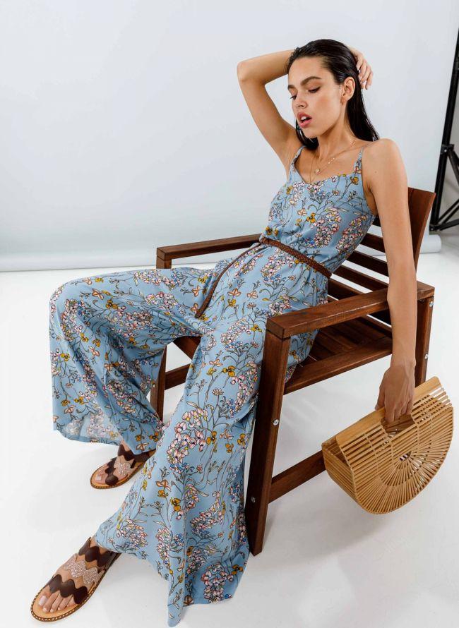 Ολόσωμη φόρμα με λουλούδια - Ραφ