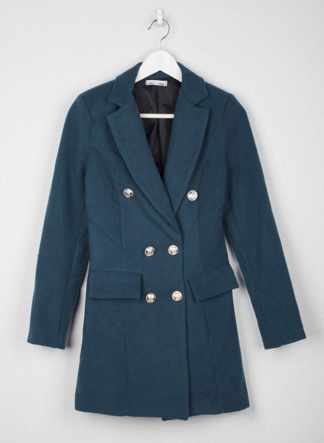 Παλτό με μεταλλικά κουμπιά - Petrol