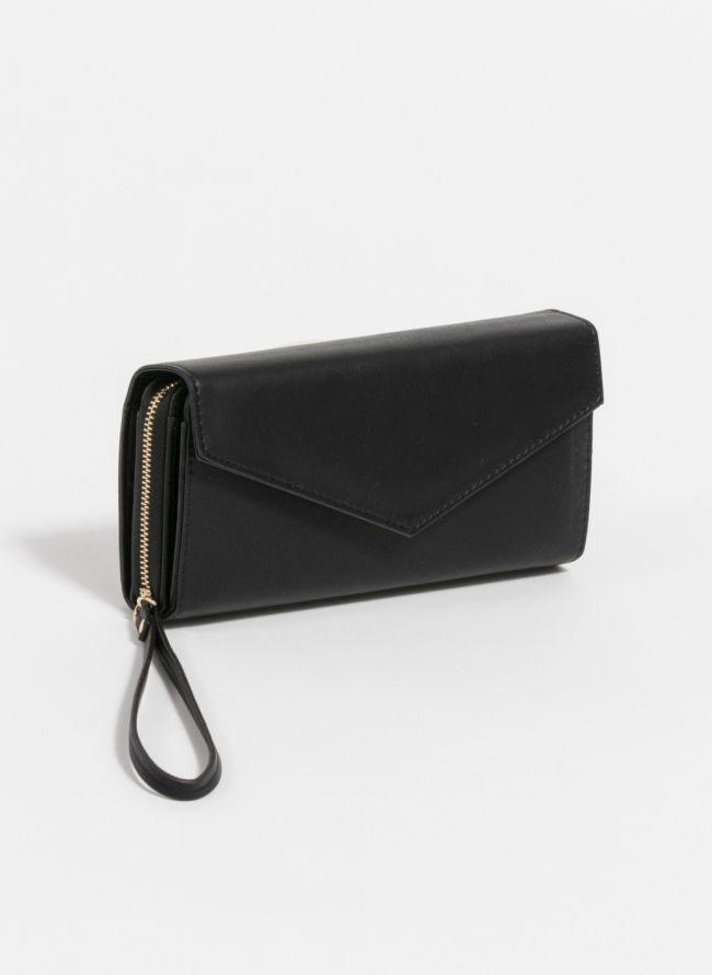 Πορτοφόλι με πολλές θέσεις - Μαύρο