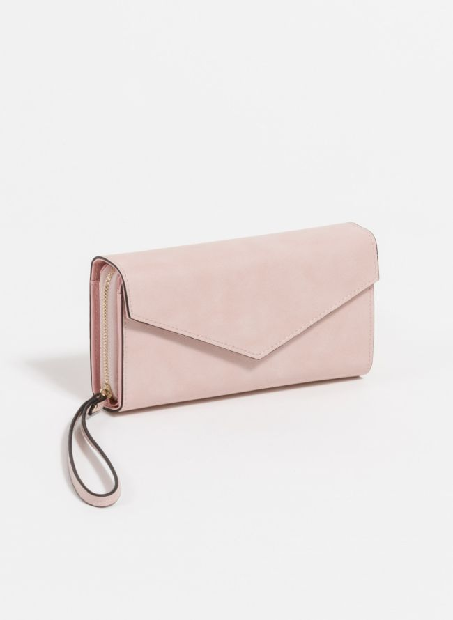 Πορτοφόλι με πολλές θέσεις - Ροζ