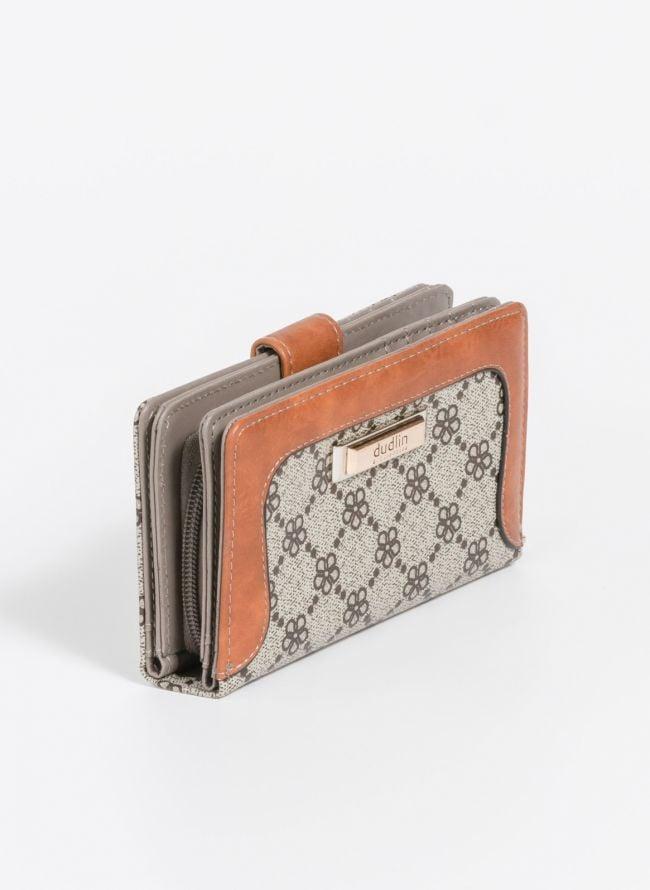 Πορτοφόλι με σχέδιο - Πούρο