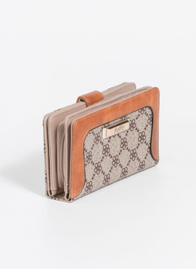 Πορτοφόλι με σχέδιο - Τάουπε