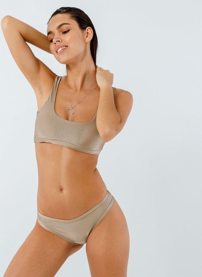 Σετ bikini με μπουστάκι - Άμμου