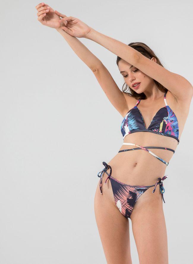 Σετ brazilian bikini σε συνδυασμούς χρωμάτων - Μπλε