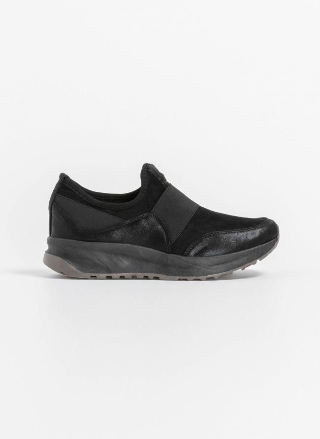 Slip on αθλητικά παπούτσια - Μαύρο