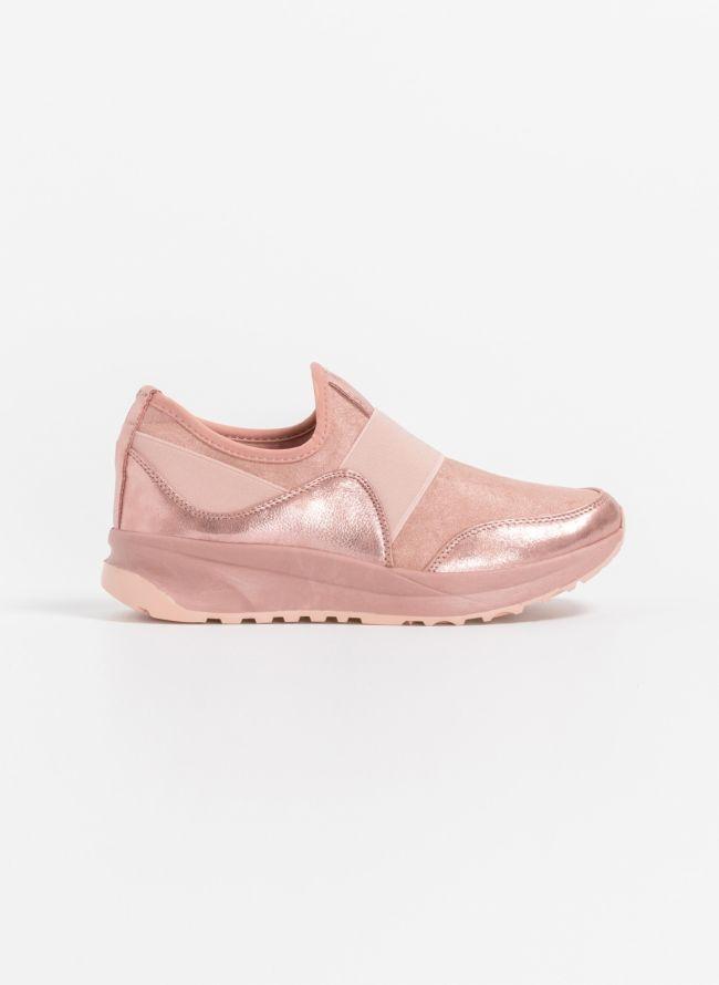 Slip on αθλητικά παπούτσια - Ροζ