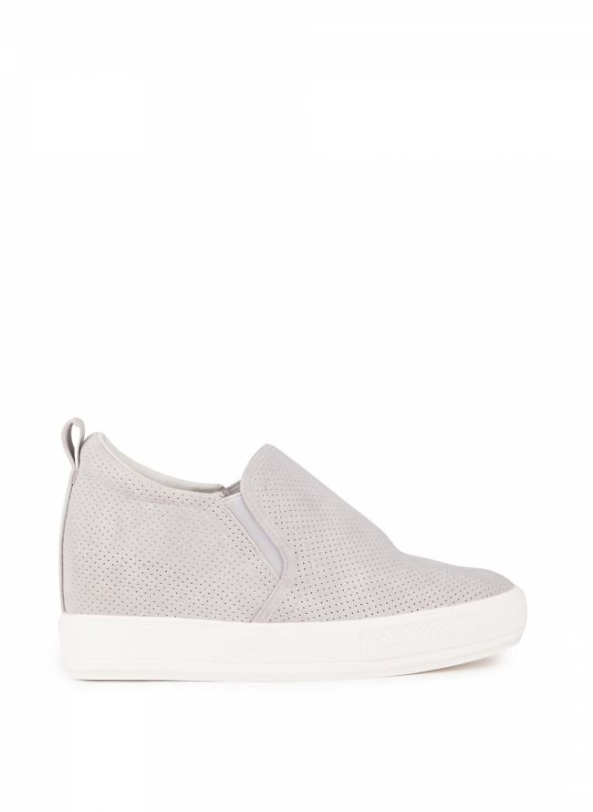 Slip-on sneakers - Γκρι