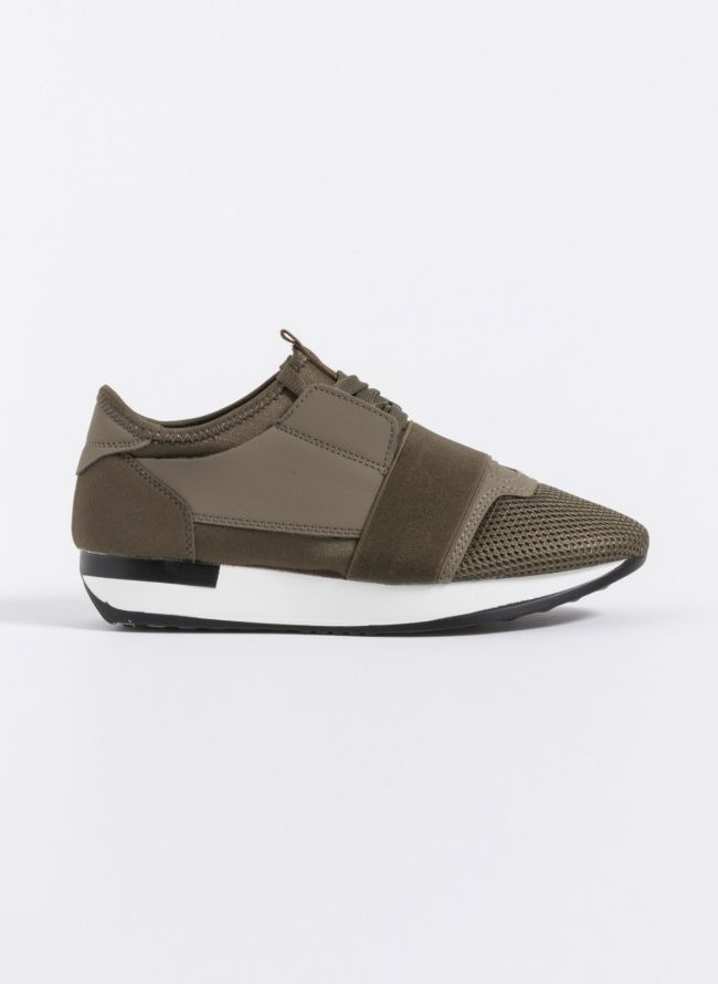 Slip-on sneakers - Χακί
