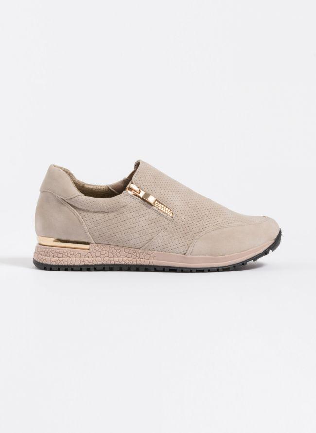 Slip-on sneakers με φερμουάρ - Πούρο