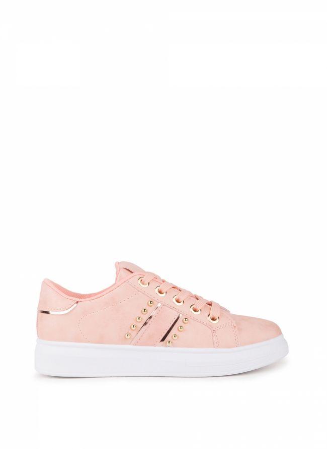 Sneakers με τρουκς - Ροζ
