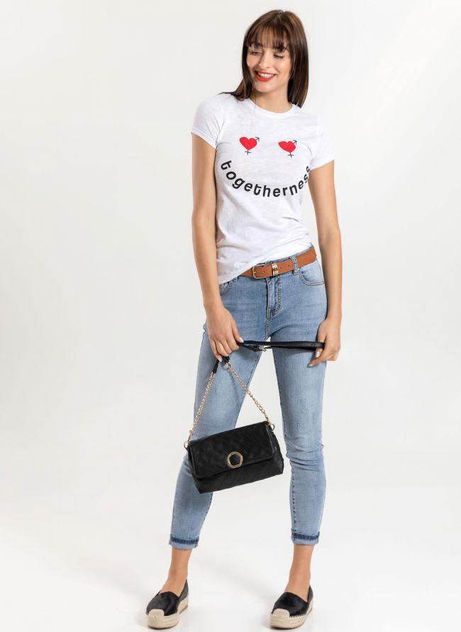 T-shirt  - Λευκό