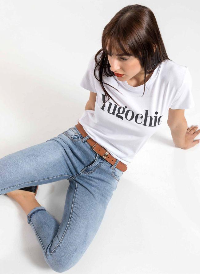 T-shirt Yogochic - Λευκό