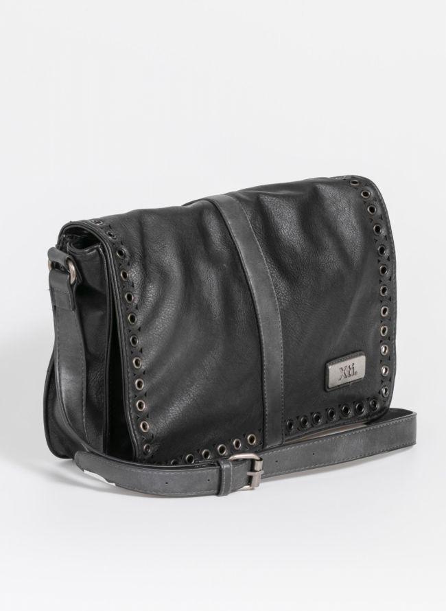 Xti τσάντα ταχυδρόμου με τρουκς - Μαύρο