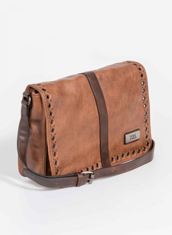 Xti τσάντα ταχυδρόμου με τρουκς - Ταμπά