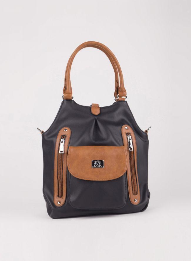 Τσάντα ώμου/πλάτης - Μαύρο