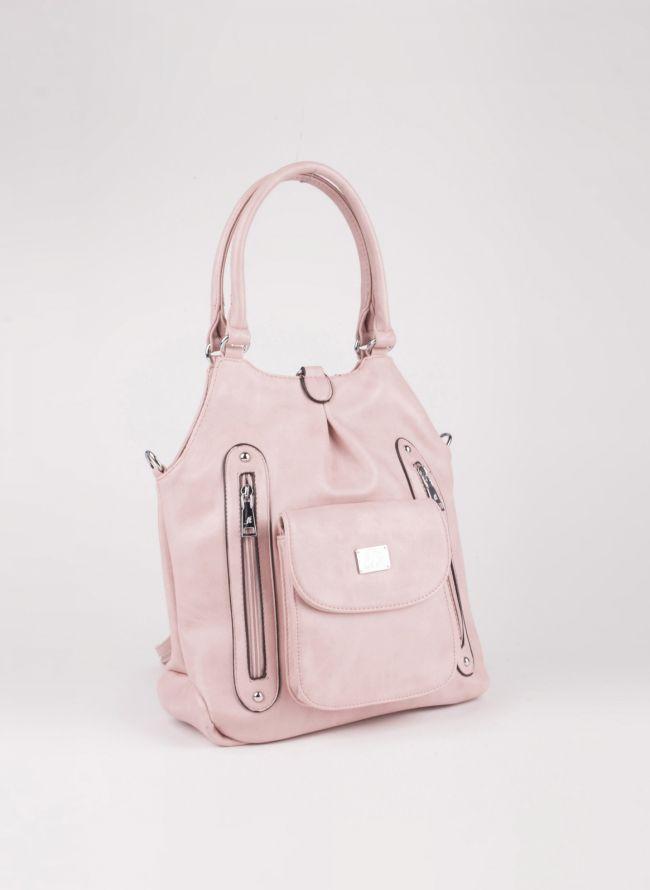 Τσάντα ώμου/πλάτης - Ροζ
