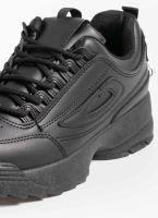Αθλητικά παπούτσια μόδας με σόλα chunky - Μαύρο - TheFashionProject 441f4ff9dda