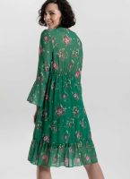 242a85b86657 Φόρεμα με μικρά λουλούδια - Πράσινο - TheFashionProject