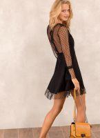 Φόρεμα με τούλι - Μαύρο - TheFashionProject 7ce1dc21620