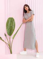 Maxi φόρεμα με άνοιγμα στο πλάι